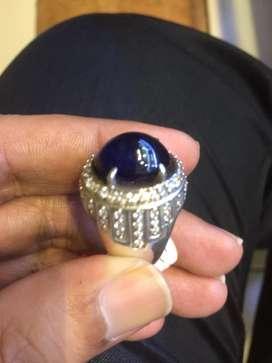 Natural sapphire corondum