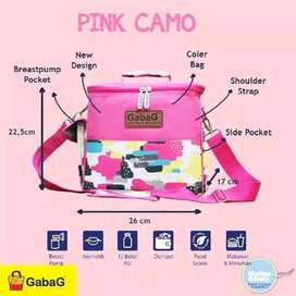 gabag cooler bag pink camo