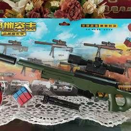 PUBG miniatur mainan Awm SKS dan Kar98