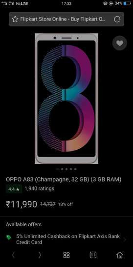 Oppo a83 phone