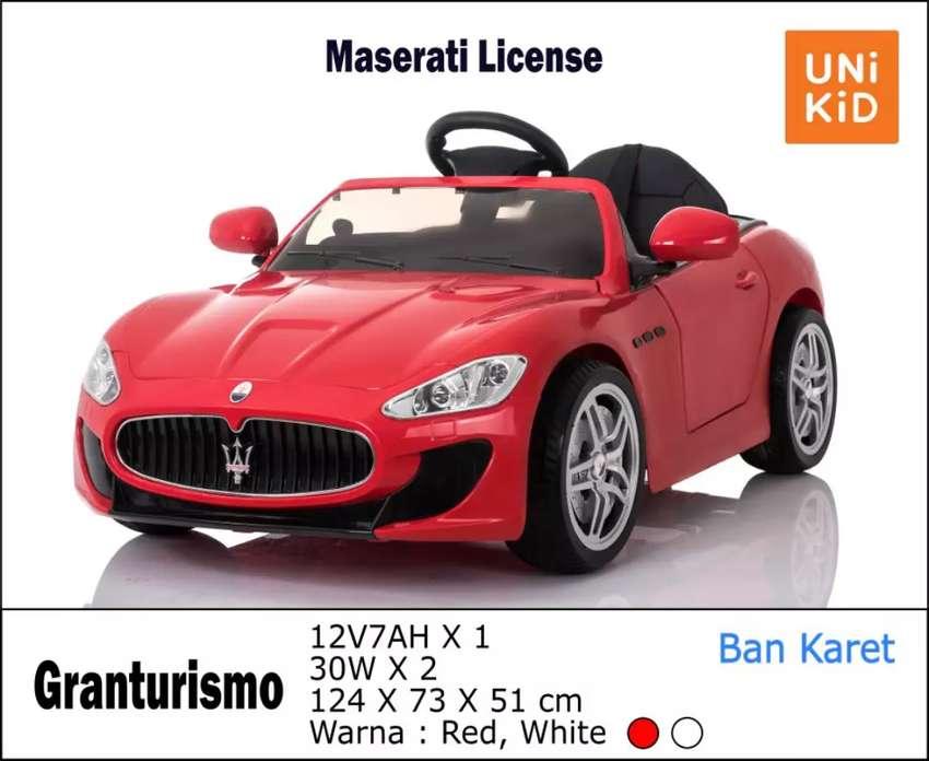 Mobil mainan aki Maserati granturismo free ongkir 0