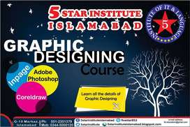 Graphic Designing In Islamabad with 5 STAR INSTITUTE, G-10 Markaz