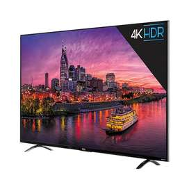 "Cornea 50"" 4K LED TV and inbuilt soundbar with warranty of 1 year"