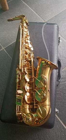 Saxophone alto cowboy