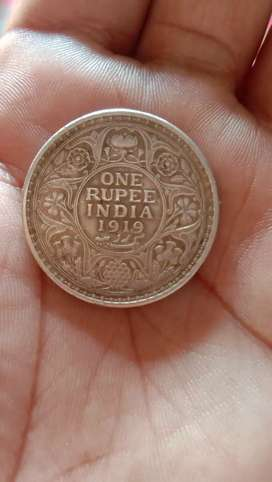Old coin silver 1919 Indian