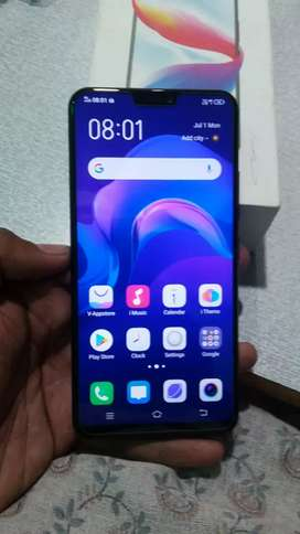 Vivo V9 in good condition with Box Bill
