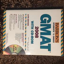 [preloved] Barron's GMAT with cd rom original.