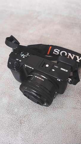 Jual kamera Sony A6300 + Memori Extreme 64gb