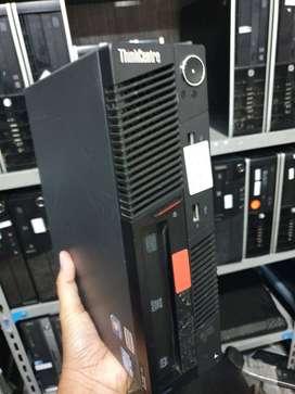 PC Ultra Slim Lenovo core i5 ram 4gb hdd 500gb DVD second mulus grs