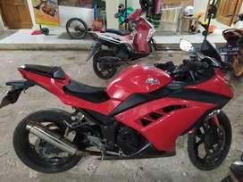 Ninja 250cc kumplit pajak jalan