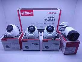 Kamera CCTV DAHUA 4Camera 2MP Bergaransi