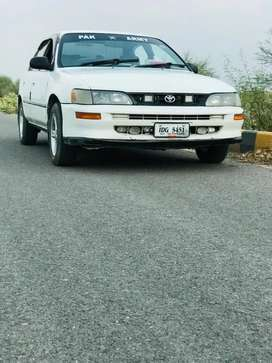 Toyota corolla xe. Islamabad registered Home used car.