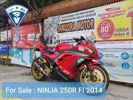 Ninja 250 R 2014 PROMO Dp 2,850jt Bisa TT R25 CBR CB 150R Ninja Aerox