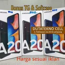 Samsung A20 3/32 (Bonus TG & Softcase) Dual camera, Baterai 4000mAH