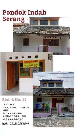 Rumah Dijual Cepat Siap Huni