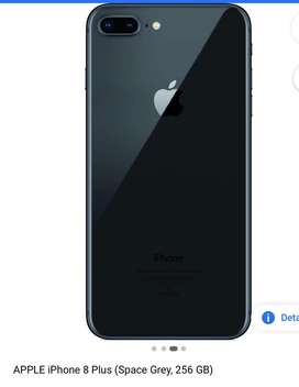 8 plus 256 gb good condition box charger
