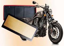 Holder / Dudukan Plat Nomor Polisi Sepeda Motor Bahan Akrilik