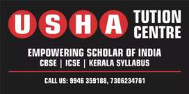 USHA TUTION CENTER Empowering Scholars of India, for 5th-12th classes
