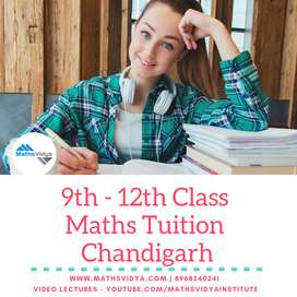 12th class Maths Tuition/Tutor Chandigarh Sector 45
