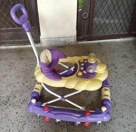 Luvlap baby walker cum rocker with height adjustment