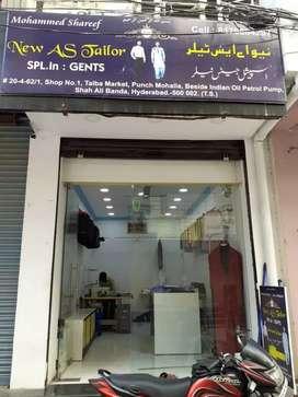 Shop for sale tailors gents