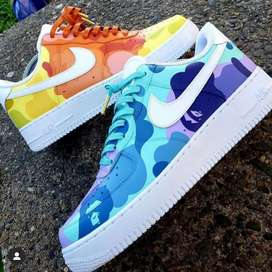 Customize Your Own Nike Air Force 1...