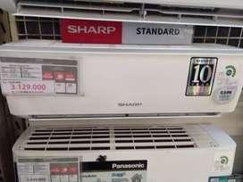 ac sharp 1/2 pk di kreditkan tanpa jaminan tanpa DP