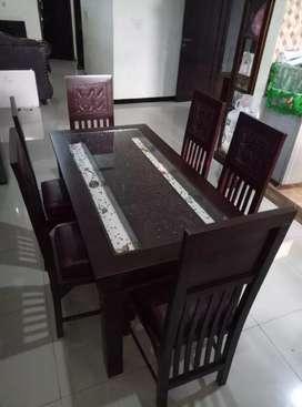 meja makan jati berkualitas