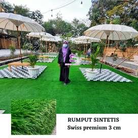Rumput sintetis taman outdoor dan indoor