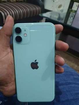 Iphone 11 128gb green colour in warranty till 20 november 2020
