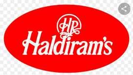 Recruitment in Haldiram India Pvt Ltd in Pan India location