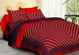 Double bedsheets pure cotton