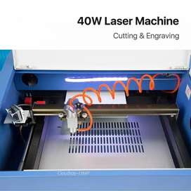 50w Laser Engraving and Cutting Machine 3020