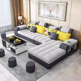 Sofa Minimalis Letter-L   Sofa Ruang Tamu