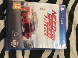 Used mint condition ps4 need for speed payback 1day money back warrant