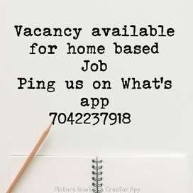 part time data typing job available
