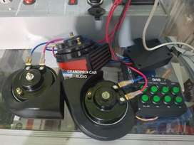 Klakson keong telolet electric 8tombol suara dc12v buat motor mobil