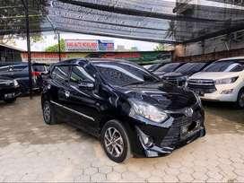 Toyota Agya 1.2 G 2018 Manual plat BH Terawat