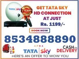 Free Amazon Fire Stick With Tata Sky HD Tatasky Dishtv Airteltv New HD