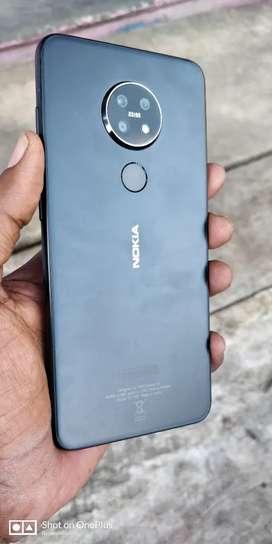 Nokia 7:2 48mp camera selfi 20mp camera 6gb rom 3month bill