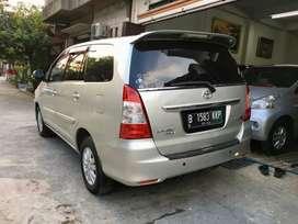 Toyota Kijang Innova/ Inova Tipe G AT Automatic Tahun 2012 Silver,2013