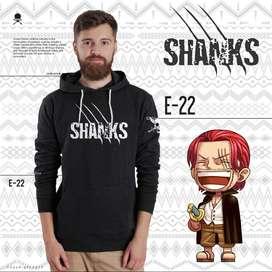 Jaket Anime One Piece Shanks