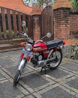 Suzuki A100 1979 Full Restore Original Klasik Rare Antik