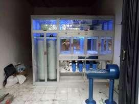 Terima pemasangan depot air minum isi ulang galon