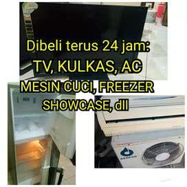 Tv led dan kulkas dibeli terus 24 jam7