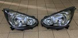 Headlight / lampu depan mitsubishi mirage