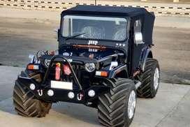 Monster look open modified jeeps