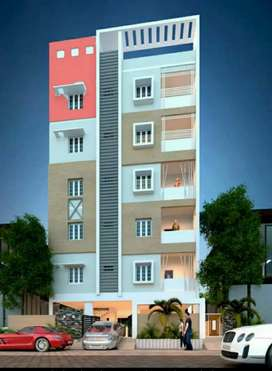 1025 Sft, Luxurious New 2 BHK Flats Ready to move in Uppal, 4550/- Sft