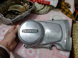 Honda 125 old model engine side cover