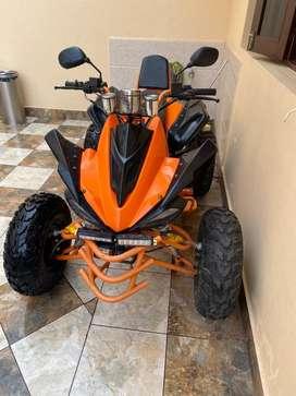 Four wheel drive automatic 250cc